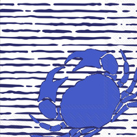 Waterline Crab Lunch Napkins