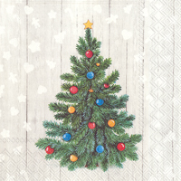 Whimsical Tree Lunch Napkin