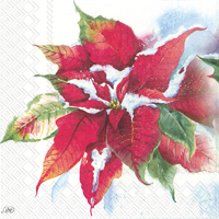 Winter Ilex Lunch Napkin