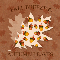 Fall Breeze Lunch Napkin