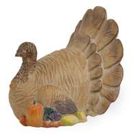 Carved Turkey of Plenty
