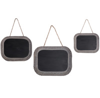 Tin Chalkboards (Set of 3)