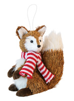 Woody Frank Fox Ornament