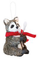 Woody Roger Raccoon Ornament