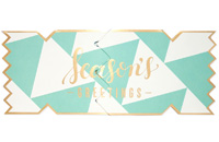 My Design Co. Season's Greetings Cracker Card