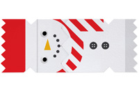 My Design Co. Snowman Cracker Card