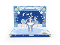 My Design Co. Swan Lake Music Box Card