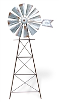 Farmhouse Style Windmill Ground Stake