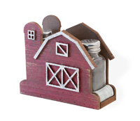 Red Barn Salt & Pepper Set