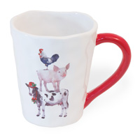 Christmas on the Farm Mug