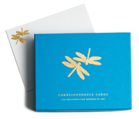 The MET Tiffany Dragonflies Correspondence Cards