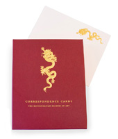 The MET Dragon Correspondence Cards