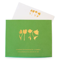 The MET Four Tulips Correspondence Cards