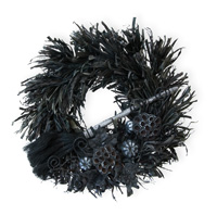 Wicked Dark of Night Wreath