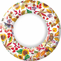 Autunno Bellino Dinner Paper Plates