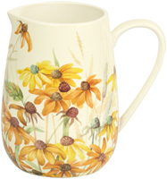 Coneflower Porcelain Pitcher