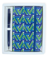 Blue & Green Geometric Gift Set