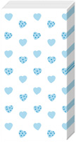 My little Sweetheart Light Blue Pocket Tissues