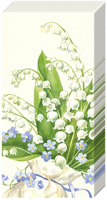 Convallaria Cream Pocket Tissues