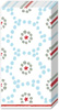 Winter Dotty Light Blue Pocket Tissues