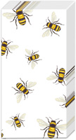 Save The Bees! Pocket Tissue white