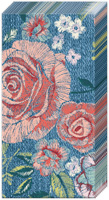 Denim Rose Pocket Tissue