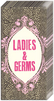 Naughty Betty Ladies & Germs Pocket Tissues