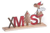 Critter Christmas Maisey Xmas Moose Sign