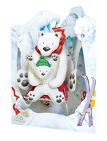 Santoro Polar Bear Swing Card