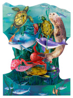 Santoro Underwater World Swing Card