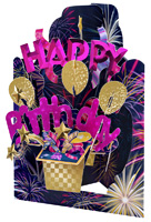 Santoro Happy Birthday Swing Card