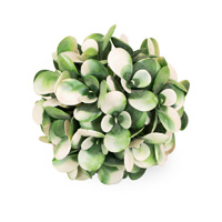 White Green Succulent Ball