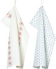 Winter Dotty Tea Towel Set