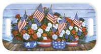 Patriotic Petunias Serving Tray