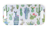 My Little Green Cactus Melamine Tray