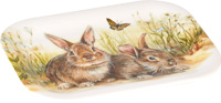 Bunny and Clyde Snack Tray