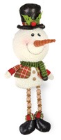 Plaid Pals Whimsy Snowman