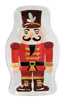 Nutcracker Glass Plate
