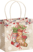 Decorative Stockings Gift Bag