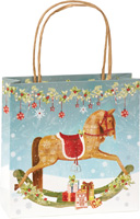 Lovely Rocking Horse Gift Bag