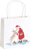 Santa's Best Friend Gift Bag