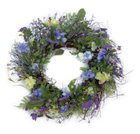 Purple Majesty Wreath