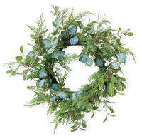 Evergreen & Eucalyptus Wreath