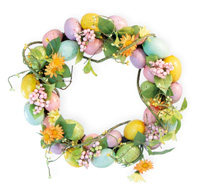 Pastel Small Egg Wreath
