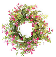 Pink Harmony Wreath