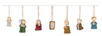 Sweater Children Nativity Set