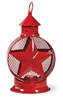 Americana Red Star Tealight Lantern
