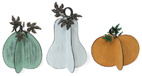 Metal Colored Gourds