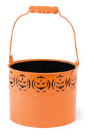 Orange Pumpkin Pail