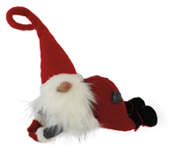 Bottle Hanger Santa Elf Gnome